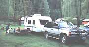 Camping at the Three Rivers Campground